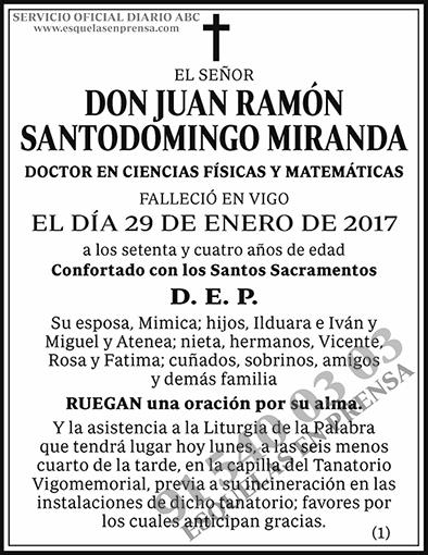 Juan Ramón Santodomingo Miranda